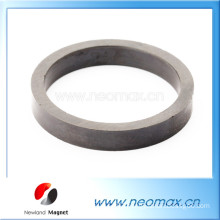 Customized ferrite magnets in ring shape for hot sale