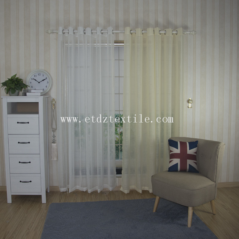 Competitve Sheer Curtain Fabric