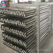 Bobinas de condensador SS304 para torres de resfriamento fechadas