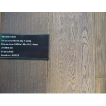Plancher de bois d'ingénierie multicouche de chêne