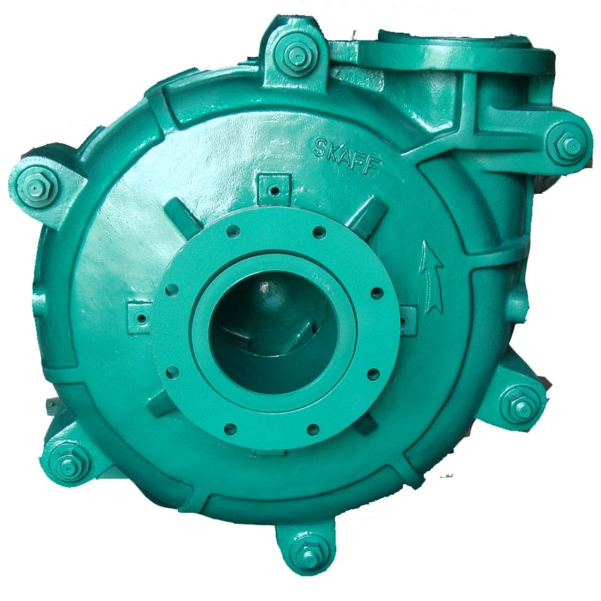 8/6FFY horizontal centrifugal end suction slurry pump