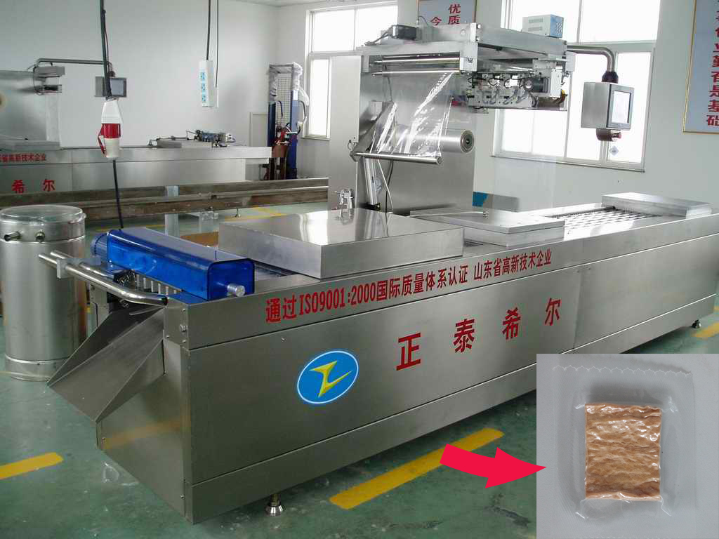 Spinach Noodles Vacuum Packing Machine