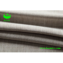 Poliéster imitação tecido de linho sofá (bs6044)