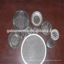 Boa qualidade rodada Disco de filtro / óleo Disco de filtro / Filtro de aço inoxidável Filme fábrica chinesa