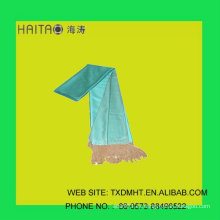 Bufanda de seda de las bufandas de las muchachas de la manera-- bufanda con color sólido