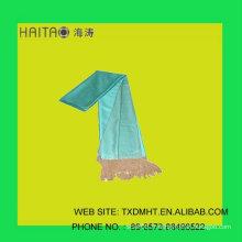 Mode écharpe en soie pour filles châle - écharpe à la couleur unie