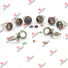 Bagues rondes en forme de verre en gros Bijoux fantaisie (LR106)