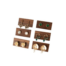 black walnut earring rack jewelry display rack