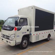 2017 china baixo preço de alta qualidade foton levou caminhão de palco móvel