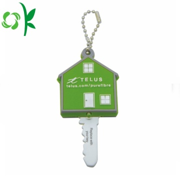 Fesyen Custom House Shaped Silicone Key Cover