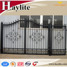 sliding main house gate for villas iron pipe gate design of home