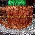 PVC Coated/Galvanized Double Loop Tie Wire