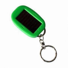 LED Keychain, Customized Designs Welcomed, Available in Various Colors
