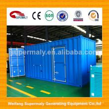 Generador de la planta del biogás del buen rendimiento del poder del comienzo del uno mismo 1MW / 2MW con CE
