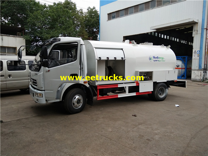 2T Propane Dispensing Tanker Trucks