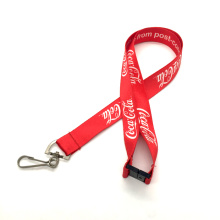 Cheap Polyester Lanyards With Silk Screen Printing