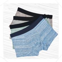 El boxeador antibacteriano modal del algodón de la alta calidad al por mayor cuatro esquina los escritos el tronco masculino jadea la ropa interior