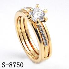 Anel de Moda / Jóias Anel / Anel de Diamante Popular (S-8750. JPG)