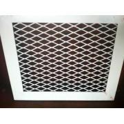 plastic coating Decorative Mesh Panels , Low Carbon Steel P