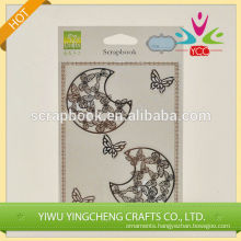 Home decoration shabby chic metal stickers 2016 fashion christmas alibaba china supplier