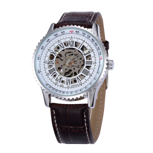 dom luxury sport automatic skeleton men watch