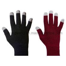 Теплые трикотажные акриловые сенсорные экраны Magic Gloves для смартфонов