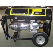 Gasoline Generator with Motorcycle Silencer