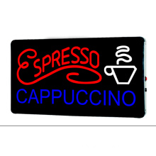 LED Sign Espresso Cappuccino