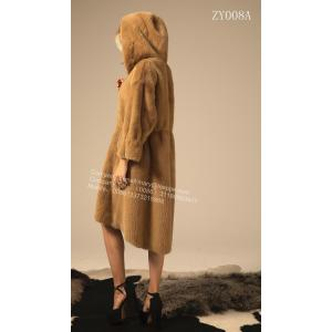 Reversible Wanita Winter Kopenhagen Mink Coat