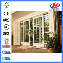 *JHK-White Internal French Doors Interior Single Sliding Bathroom Doors Interior Sliding Glass French Doors