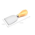 4pcs outils à fromage avec boîte à découper en bambou