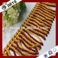 Hangzhou Taojin Textile Tassel Rideau Trims Frangé Tassel Frange pour rideau