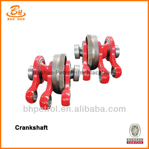 High Quality Hollow Crank Shaft For Triplex