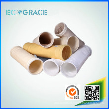 Residuos de incineración de gases de combustión filtrables resistentes a la corrosión PTFE / bolsas de filtro de polvo de teflón