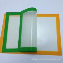 Silicona de alta calidad de grado de alimentos bicarbonato de estera, estera para hornear resistente al calor, silicio personalizado por mayor de mat de la hornada