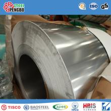 Bobina de aço inoxidável de alta Quanlity No. 1 / No. 4