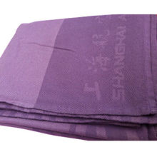 Travel aviation blanket, plus size, made of 100% acrylic, soft texture and thick fabric, anti-static