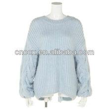 12STC0606 suéter sin espalda sexy para mujer