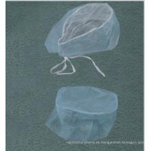 Blanco / Azul / Verde Consumibles médicos Gorro de fregona Bouffant