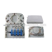 FTTH fiber optic termination box,fiber optic small box,fiber optic terminal box ABS material