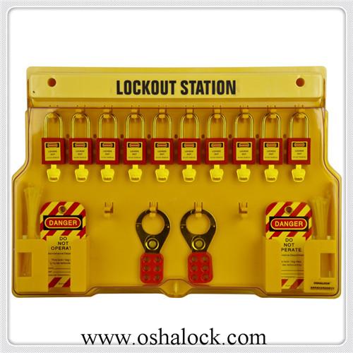 loto safety lockout station china manufacturer