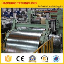 Máquina de corte longitudinal de acero al silicio