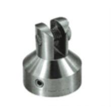conector de bisagra de pivote de ajuste de puerta de vidrio de acero inoxidable