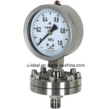 Diaphragmseal Pressure Gauge-Stainless Steel Pressure-Glycerine Pressure