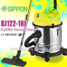 Best Seller de lavagem de aço inoxidável e aspirador de pó seco