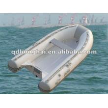 casco de fibra de vidrio pequeño barco de la costilla HH-RIB270 con CE