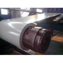 Bobina de acero prepintada / PPGI / PPGL Hoja ondulada galvanizada con recubrimiento de color en bobina