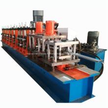 Machine de clôture de palissade de profil en acier galvanisé