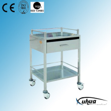 Stainless Steel Hospital Medical Dressing Cart (Q-20)