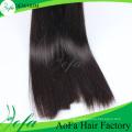 Trama 100% não processada do cabelo humano de Remy do cabelo do Virgin da alta qualidade